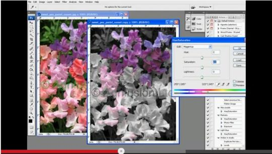 spot color effect