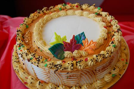 cake for fall