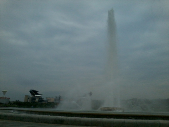 Fountain at the Point